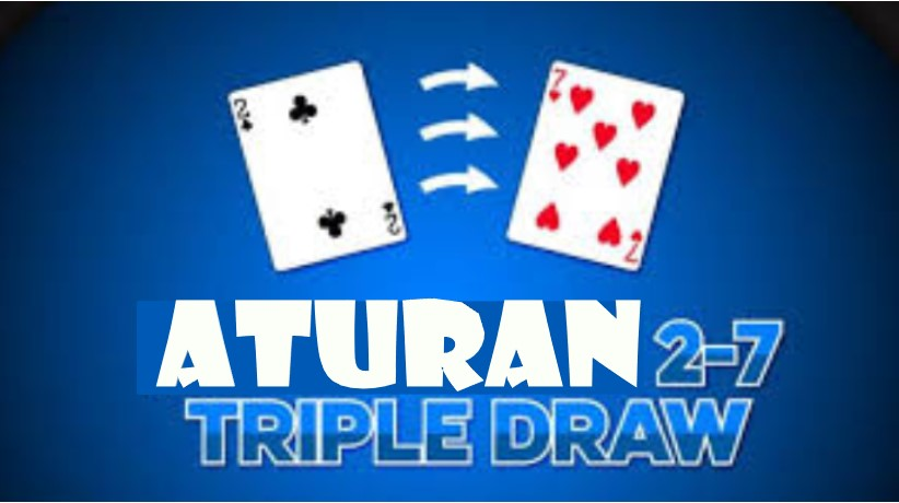 Aturan Poker 2-7 Triple Draw